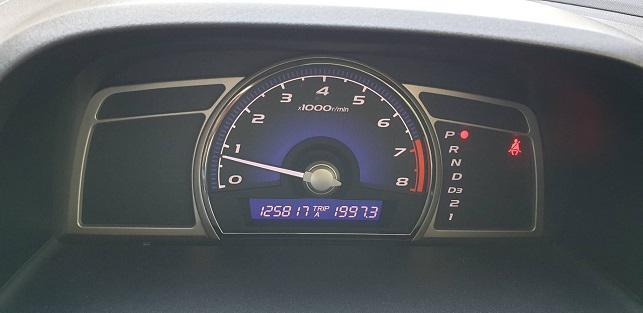 HONDA CIVIC 1.8 S  2011