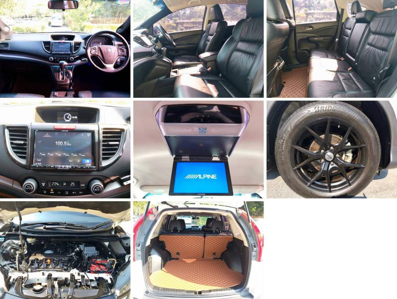 HONDA CRV 2.0E 4WD 2014