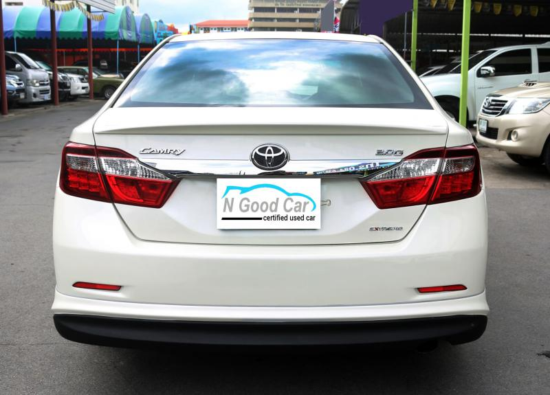 TOYOTA CAMRY 2.0 [G] EXTREMO 2014