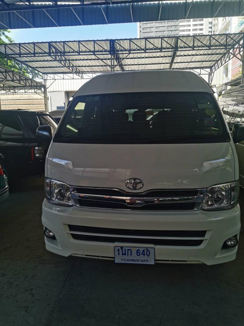 TOYOTA COMMUTER 2.7 CNG 2014