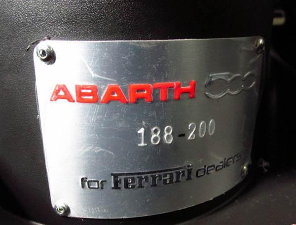 0 Fiat Abarth 500 2009