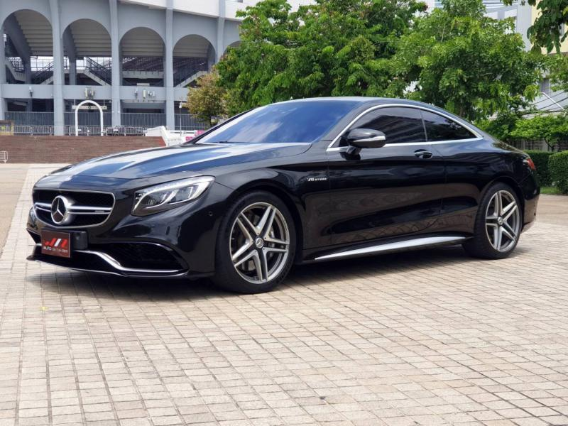 BENZ S63 AMG Coupe 2016  2016