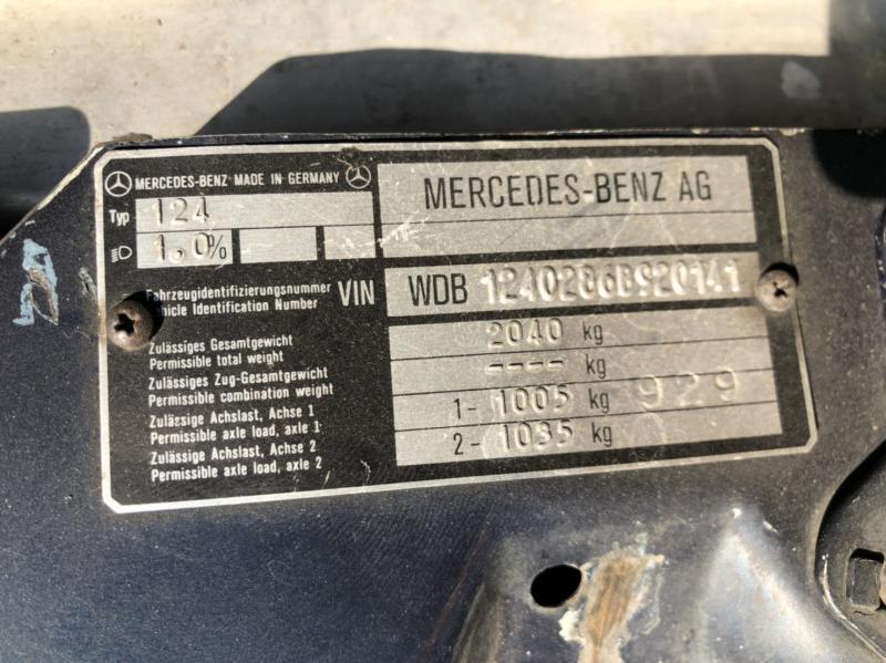 BENZ 280E w124 1994