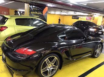 PORSCHE cayman 987.2 pdk  2011