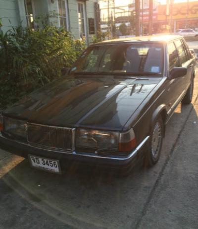 ขายถูก  Volvo760Turbo Intercooler 90 รถมือเดียวจากห้าง เจ้าของขายเอง