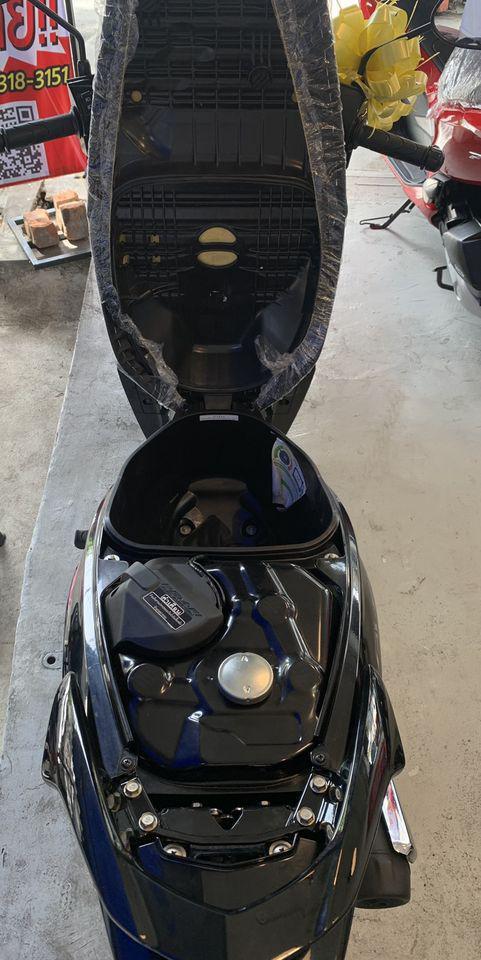 Honda Wave 125i ล้อลวด สตาร์ทมือ สีดำ