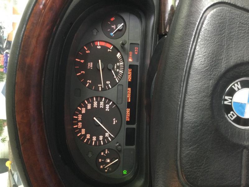 BMW Series 7, E38 2000