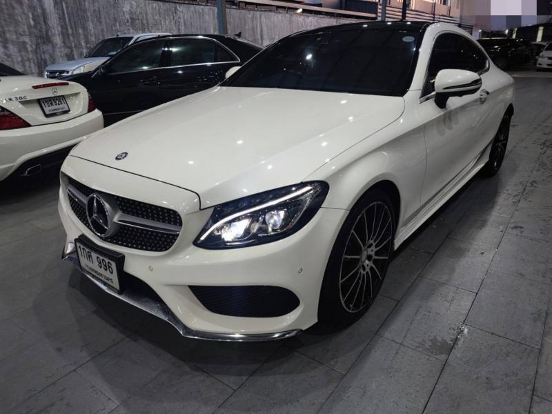 BENZ C250 COUPE AMG 2016