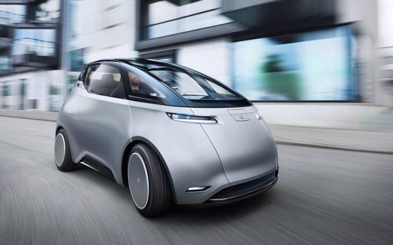 รถยนต์ไฟฟ้าเมือง Uniti One ภาพจาก บริษัท