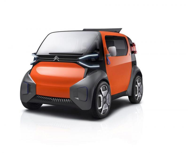 Citroen Ami One แนวคิดรถยนต์ไฟฟ้า รูปภาพจาก CITROEN